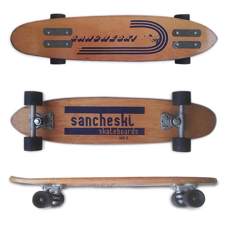 Sancheski MK2 historia del #skateboarding español #skate #sancheski #skateboard #skateboards #oldschool