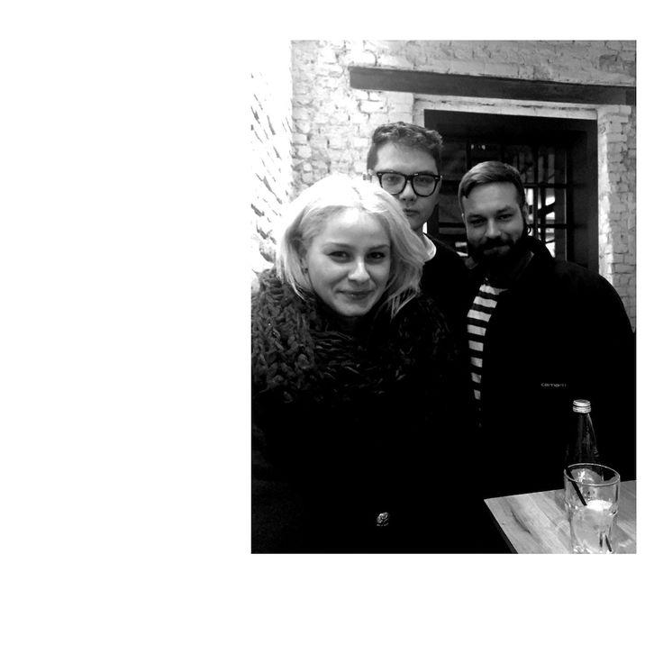 Ioana Ciolacu, Lucian Broscatean and Alex Mistretu at Alt Shift. February 2015.