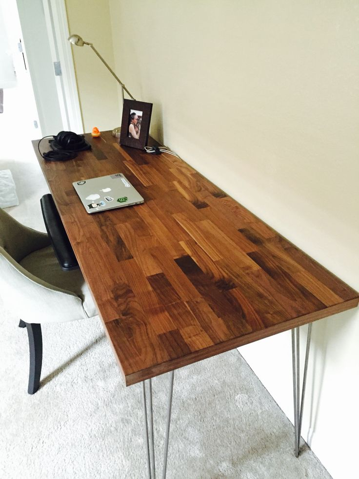 Countertop Desk : ... Desk Legs on Pinterest Desk Legs, Laundry Room Counter and Ikea Desk