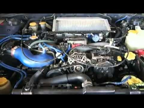 Subaru WRX Engine Replacement - engine before