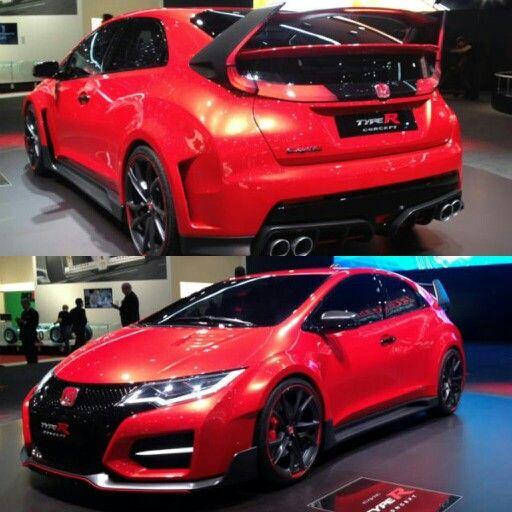 Serious car crush! 2015 Honda Civic type r
