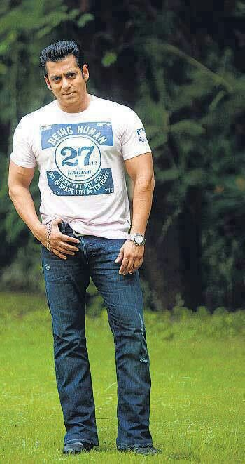 Salmankhan In Being Human Clothing T Shirt BHC
