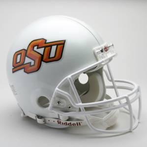 Oklahoma State University Cowboys football game helmet