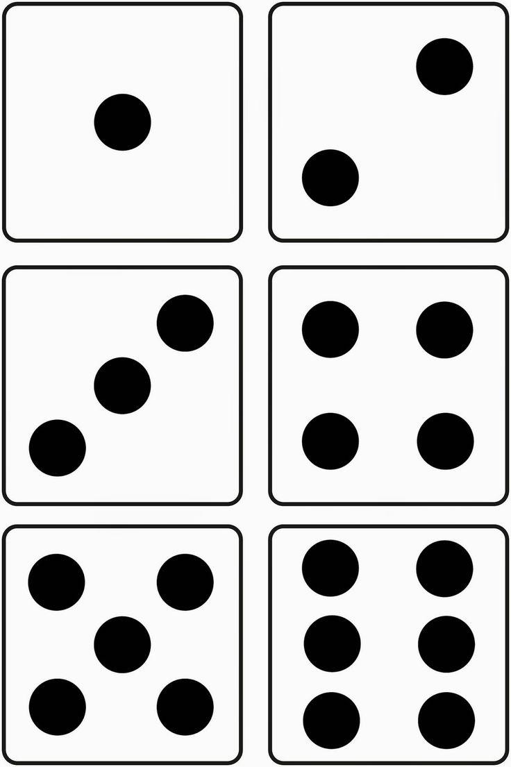 Morgen werden wir uns mit Würfelbilder und Anzahlen bis 6 beschäftigen.  Für eine kleine Gruppe möchte ich mit der Anzahl bis 3 beginnen.  I...