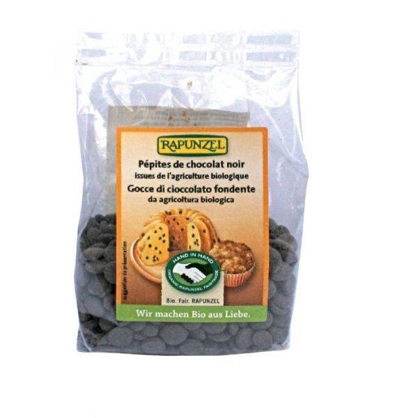 Pépites de chocolat noir 100g BIO Rapunzel | Acheter sur Greenweez.com
