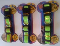 Hi-Vis Reflective Deluxe #Dog Collars - includes sameday send, FREE 1st Class Delivery plus 28 day peace of mind Returns Policy on all discount #Pet Supplies ( #Cat #Dog #Fish Items) at http://cutpricepetproducts.co.uk