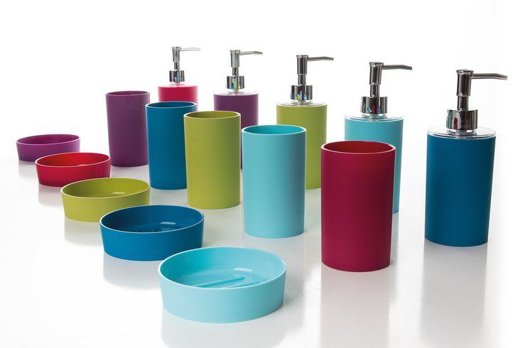 New Plus bath accessories.