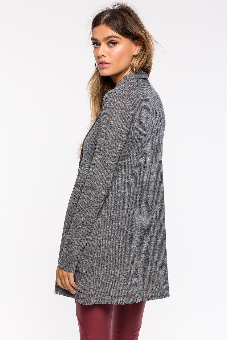 Кардиган Размеры: S, M, L Цвет: бежевый, угольный Цена: 679 руб.     #одежда #женщинам #кардиганы #коопт