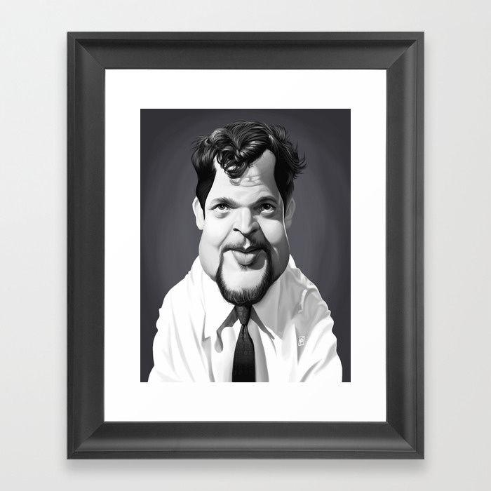 Orson Welles art   decor   wall art   inspiration   caricature   home decor   idea   humor   gifts