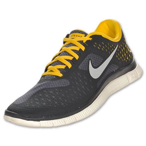 timeless design fca8e b554f For Matt  Men s Nike LIVESTRONG Free 4.0 V2   FinishLine.com   Grey Reflect  Silver Anthracite Maize  79.98   Sneaks   Nike livestrong, Nike, Sneakers  nike
