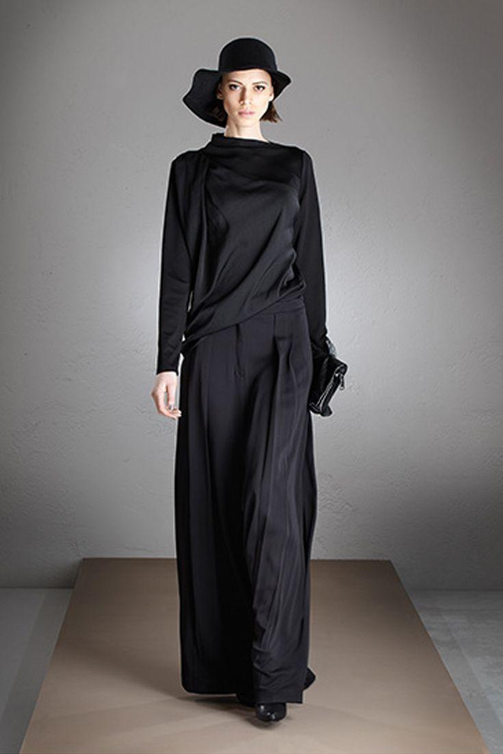 Malloni total look - fall winter 2015-16 Black collection // Shop at store.malloni.com