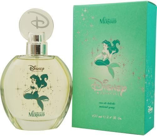 Disney Little Mermaid Princess Ariel Eau de Toilette Spray 3.4 oz by Disney. $21.29. 135100. LITTLE MERMAID by Disney - EDT SPRAY 3.4 OZ. EDT SPRAY 3.4 OZ. Launched by the design house of Disney in , LITTLE MERMAID by Disney for Women posesses a blend of: A great fragrance for that special little girl It is recommended for wear.