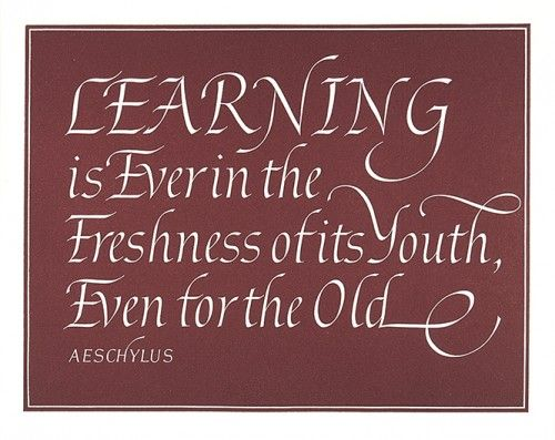 Wise words to reassure those who are yet another year older! £98.
