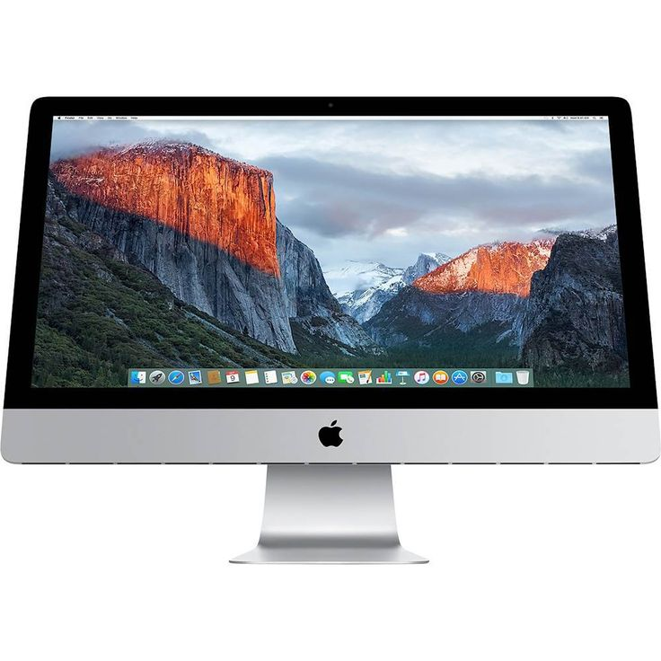 """Just added to Desktop & All-in-One Computers on Best Buy : Apple - 27"""" iMac with Retina 5K display - Intel Core i5 - 8GB Memory - 2TB Fusion Drive"""