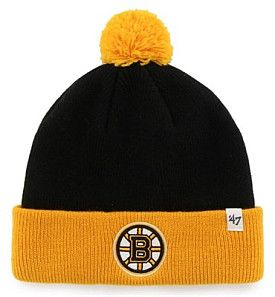 Boston Bruins '47 Brand Toddler Bam Bam Knit Beanie - Shop.Canada.NHL.com