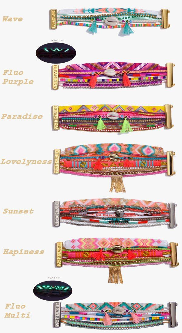 Hipanema Bracelets                                                                                                                                                     Plus