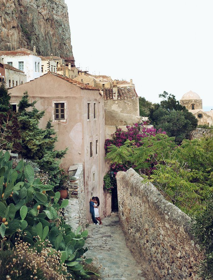 Pre wedding shoot in Monemvasia Greece #monemvasiawedding