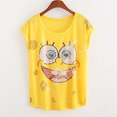 Fashion Star Printed Summer T-Shirts Women Thin Women T-Shirts Loose Short Sleeve Printed Tee Shirt For Women Tops Camiseta