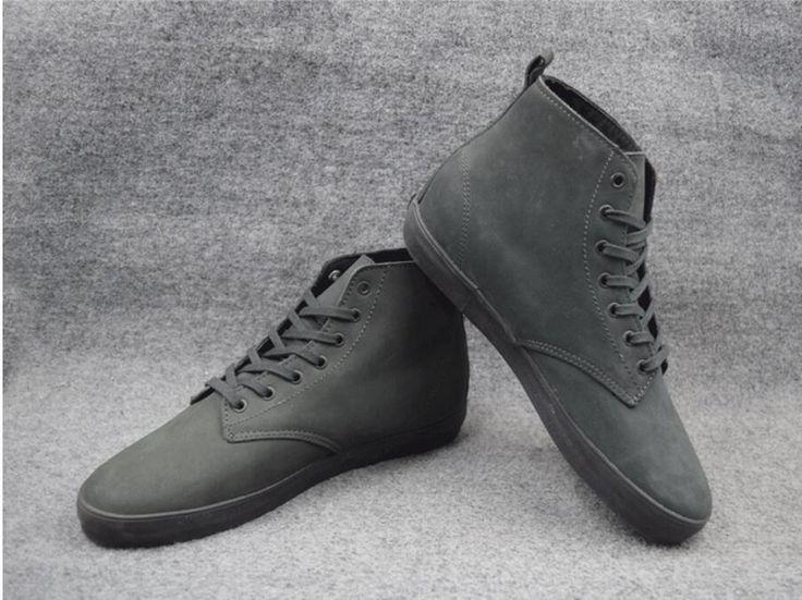 Size US 7-11 Boys Black/Silver GLOBE ENCORE-2 Board Shoes Anti-Fur Street Shock-Absorbant  Footwear