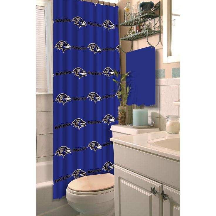 Northwest Company NFL Ravens Shower Curtain