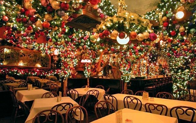 5 NYC Bars and Restaurants With Crazy Christmas Decor - Too cool