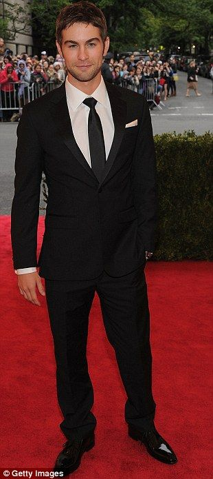 Chace Crawford...no words needed.... Met Ball 2012