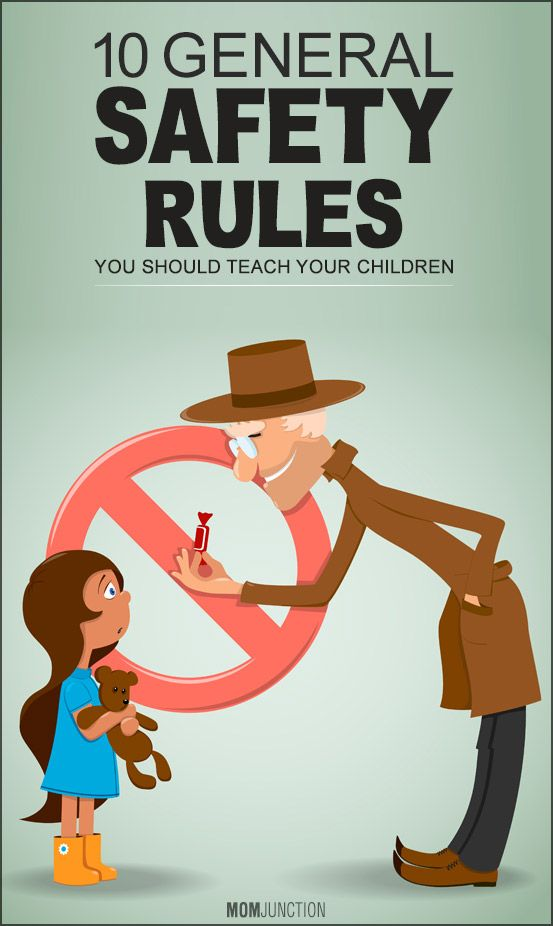 10 General Safety Rules You Should Teach Your Children Read on to know how you can teach safety rules for children. #Pareting