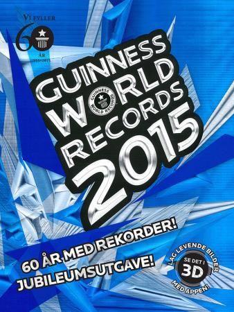 Guinness world records 2015 fra ARK. Om denne nettbutikken: http://nettbutikknytt.no/ark-no/