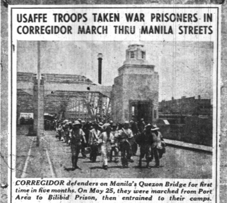 POWs from Corregidor