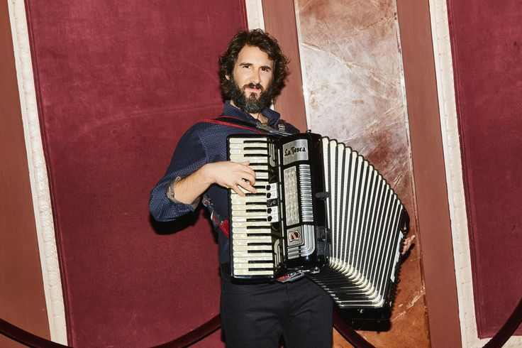 "To prepare for his role in ""Natasha, Pierre & the Great Comet of 1812,"" he tackled the accordion — and, reluctantly, learned to dance."