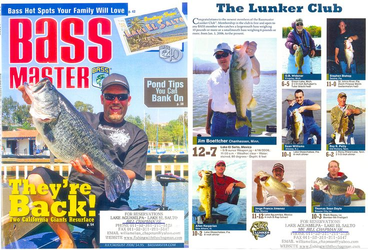 9 best images about our bass fishing tours on pinterest for Bass fishing magazine