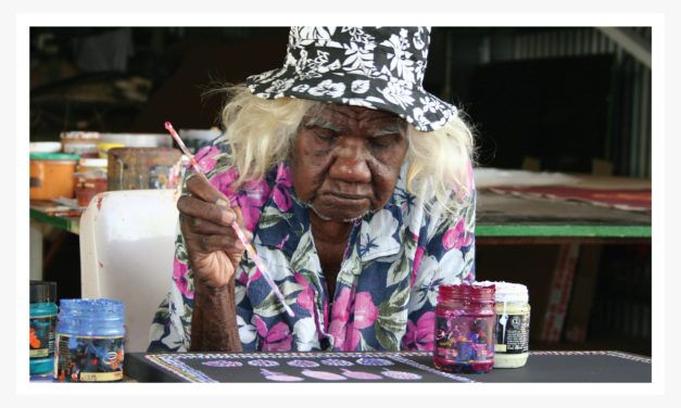 90 year old aboriginal creative journey | Loongkoonan only took up painting in her mid-90s, embracing it with such originality, confidence and dedication her work soon found its way into museums and private collections.