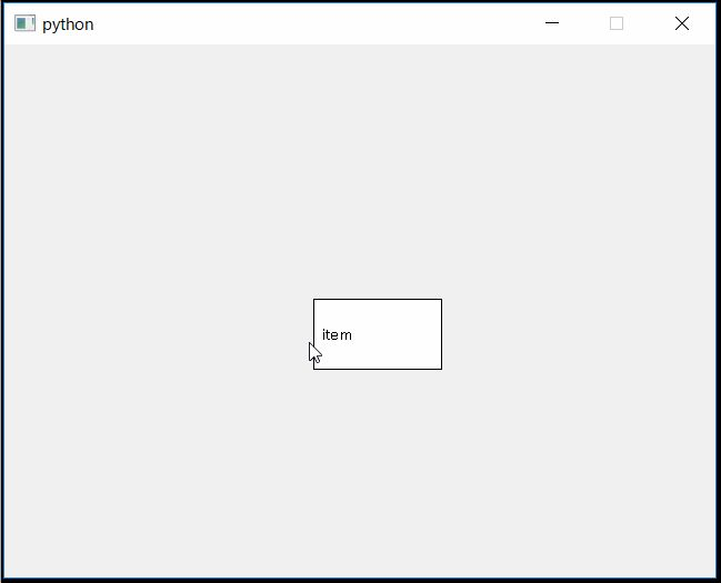 PySide movable and resizable widget without frame | - Python / Mel