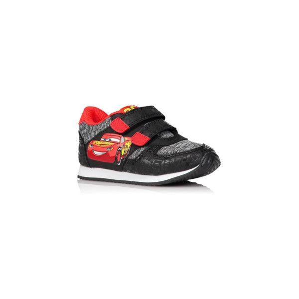Cars Disney Pixar Cars 3 Trainers ($16) ❤ liked on Polyvore featuring black