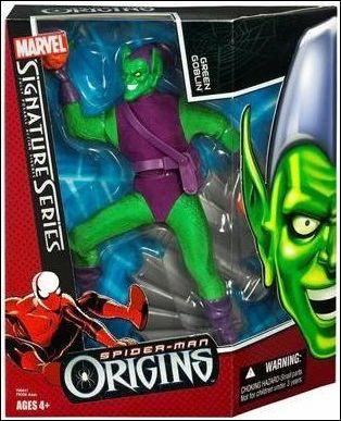 "Green Goblin Figure 8"" Spiderman Origins"