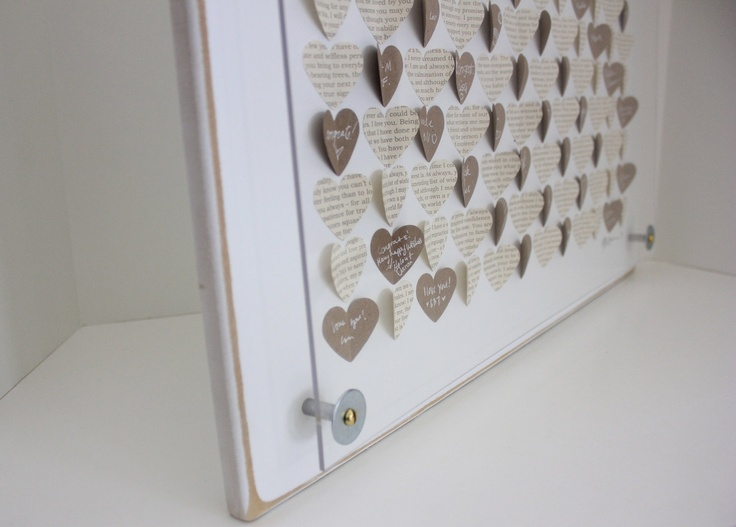 38 best Guest books and card boxes images on Pinterest Guestbook - guest book template