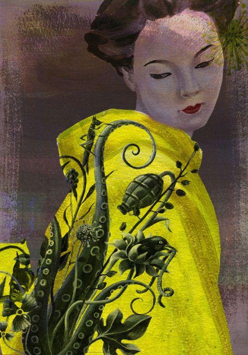 Austria based artist Alice Wellinger