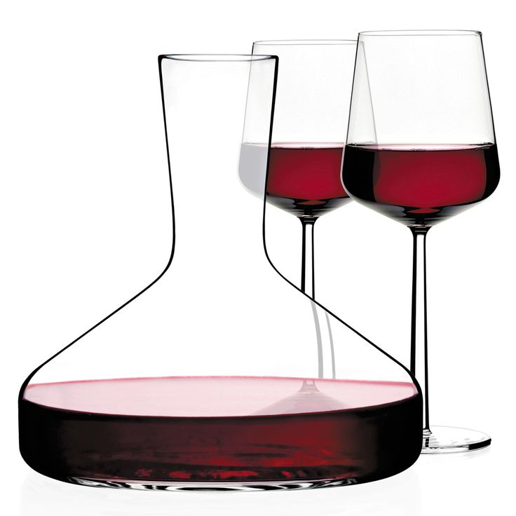 DECANTER - 190cl - Eine Weinkaraffe hat zwei Funktionen: Sie sollte dem Wein erlauben zu atmen, um das Aroma und das Bouquet des Weines freizugeben. Und sie sollte den rubin-roten Glanz eines Qualitätsweines entfachen.
