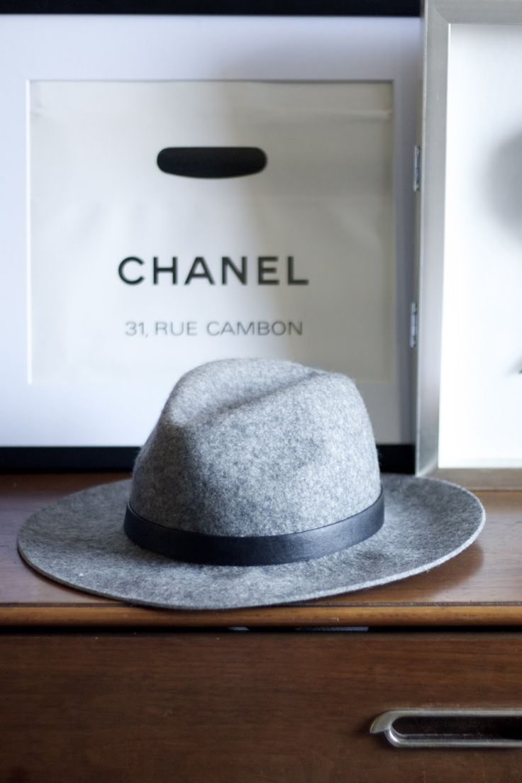 Wool wide brimmed hat--don't know why, but I love these!