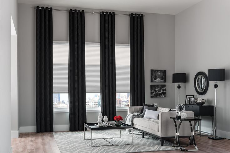 Pleated Shades Color Contrast Fabulous And Modern