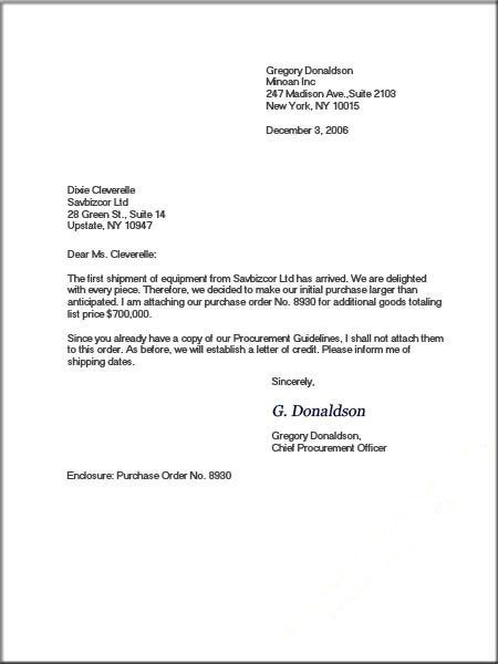 Sample Formal Business Letters Template Business letter format