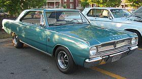Dodge Dart 4th gen – 1967