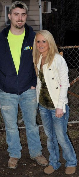 Corey Simms and Leah Messer