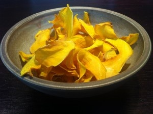 Chipsy z Dyni. Świetnie smakują i są przygotowane bez grama tłuszczu.