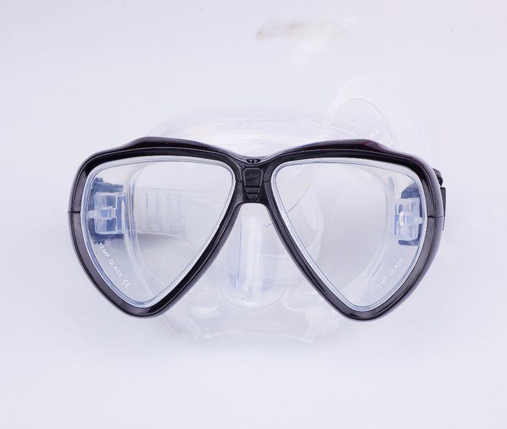 New Scuba Diving Equipment Swimming Glasses/ Mask + Dry Snorkel Set Scuba Snorkeling Gear