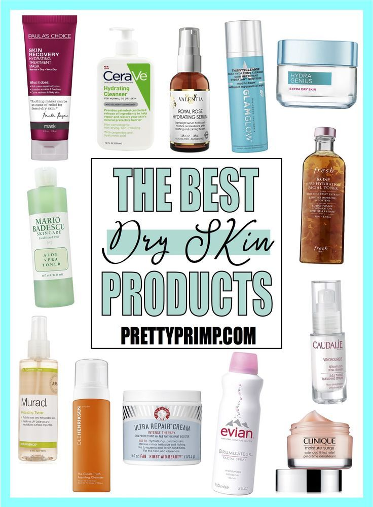 15 Best Products For Dry Skin To Restore Suppleness And Moisture Dry Skin Care Moisturizer For Dry Skin Dry Skin Toner