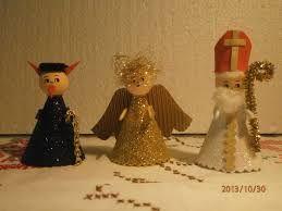 Výsledek obrázku pro mikuláš čert anděl výroba