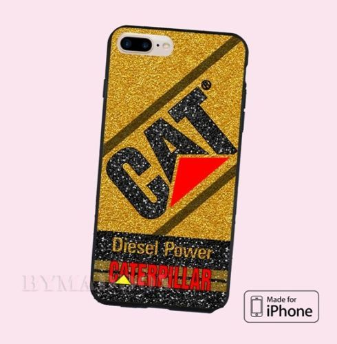 Caterpillar-Diesel-Power-Gold-Art-Print-On-CASE-Cover-iPhone-6s-6s-7-7-8-8