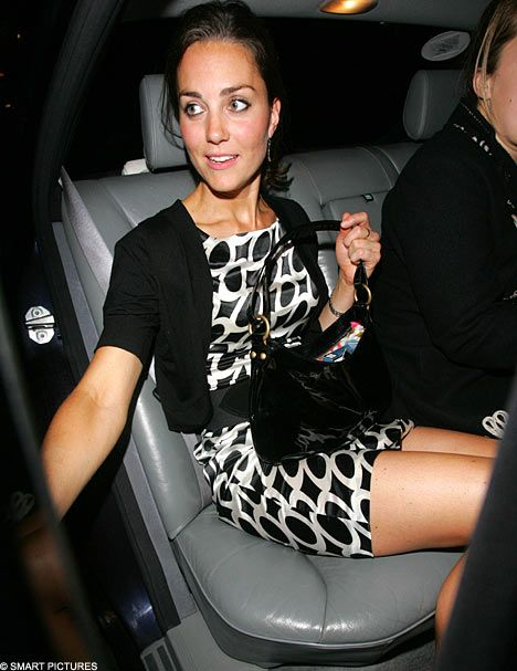 Kate Middleton Legs Open | kate middleton was out on the town for another night of partying