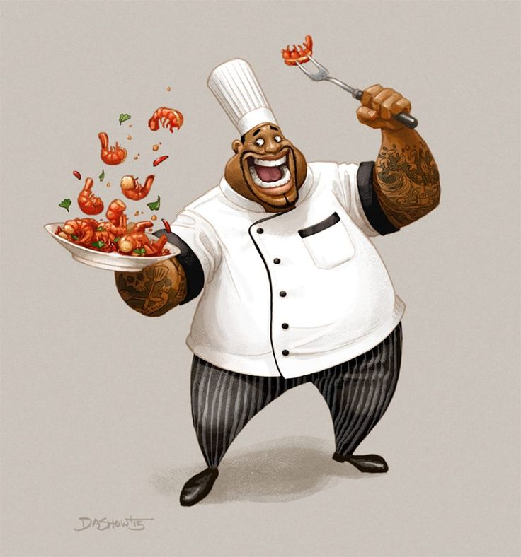 Character Design Challenge Ideas : Winner of the character design challenge for masterchef